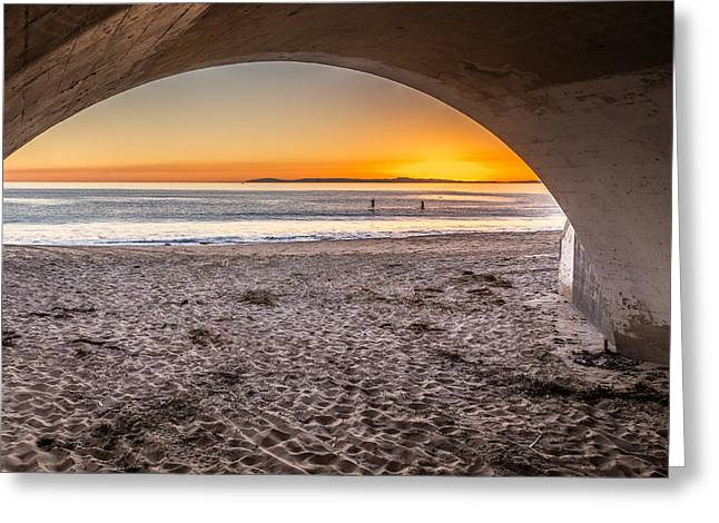 Tunnel View Greeting Card by Peter Tellone
