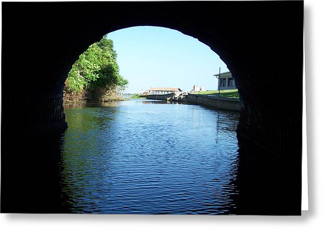 Tunnel Vison Two Greeting Card by Jack Norton