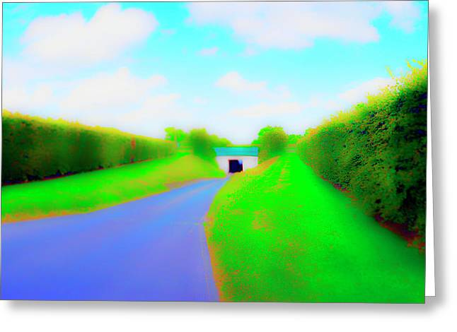 Tunnell On The  Thames Greeting Card