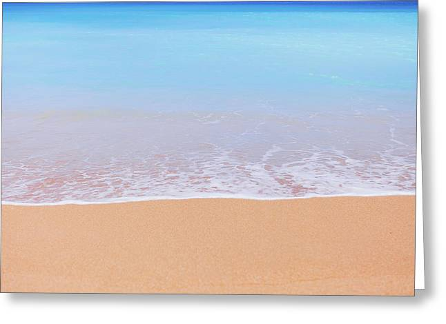 Tunnels Beach In Kauai Beach Landscape Photography 3 Greeting Card by Ariane Moshayedi