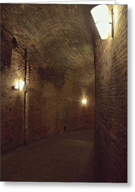 Tunnels Greeting Card by JAMART Photography