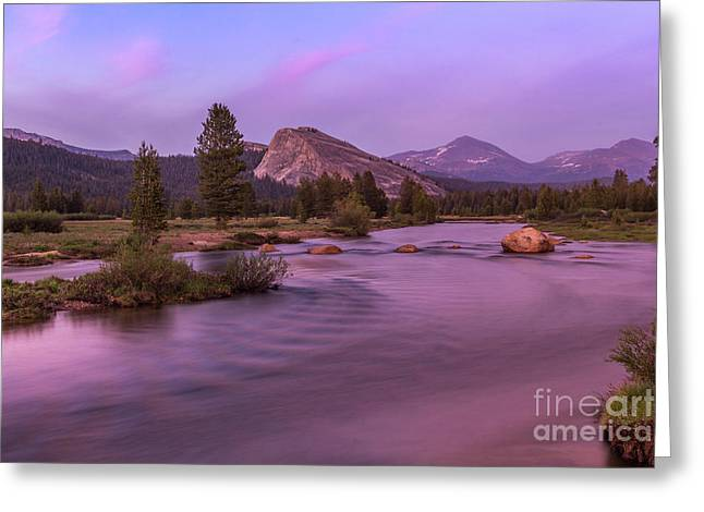 Tuolumne Meadow Greeting Card