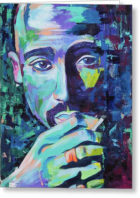 Tupac Greeting Card