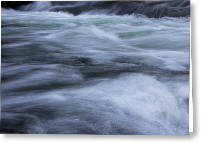 Greeting Card featuring the photograph Turbulence 2 by Mike Eingle