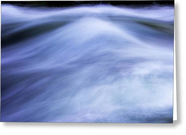 Greeting Card featuring the photograph Turbulence 3 by Mike Eingle