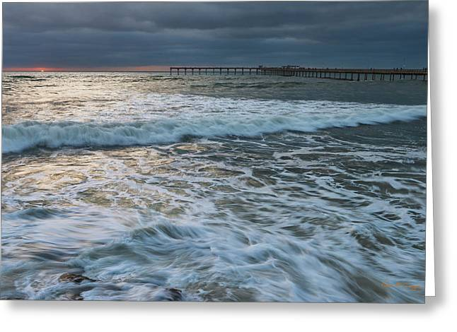 Greeting Card featuring the photograph Turbulence by Dan McGeorge