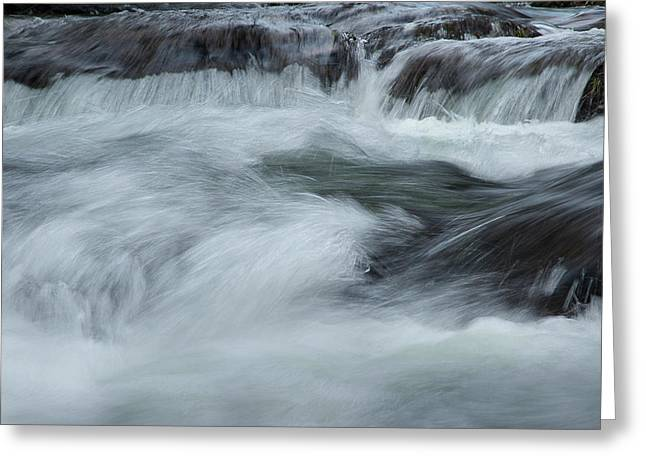 Greeting Card featuring the photograph Turbulence  by Mike Eingle