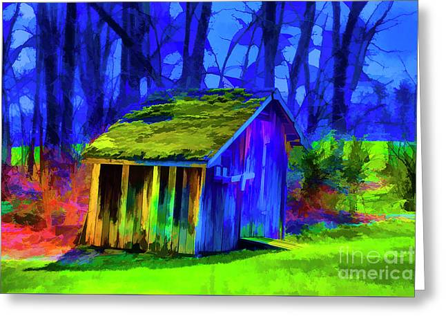 Turf Shed Greeting Card