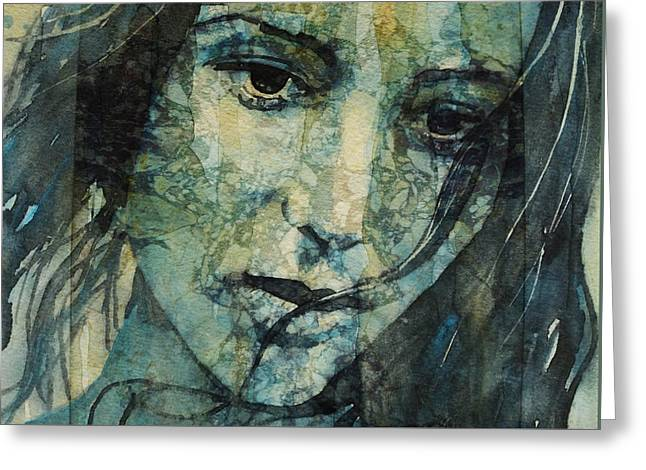 Turn Down These Voices Inside My Head Greeting Card by Paul Lovering