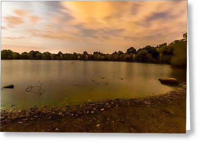 Turners Pond After Dark Greeting Card