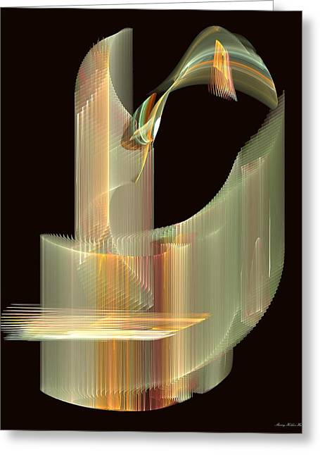 Turning Light Greeting Card by Sherry Holder Hunt