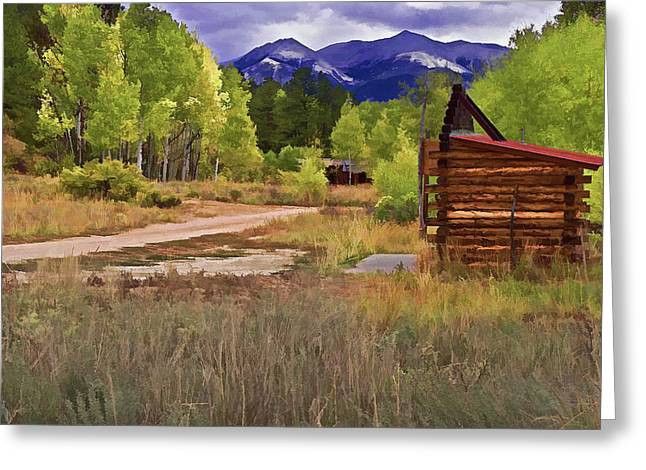 Turrett - Colorado Ghost Town Greeting Card