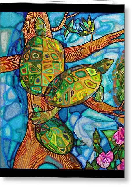 Turtle-lini Greeting Card