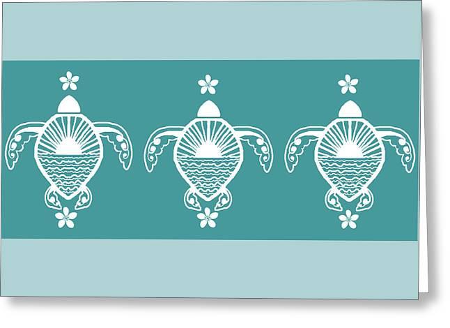 Turtles Togo  Greeting Card
