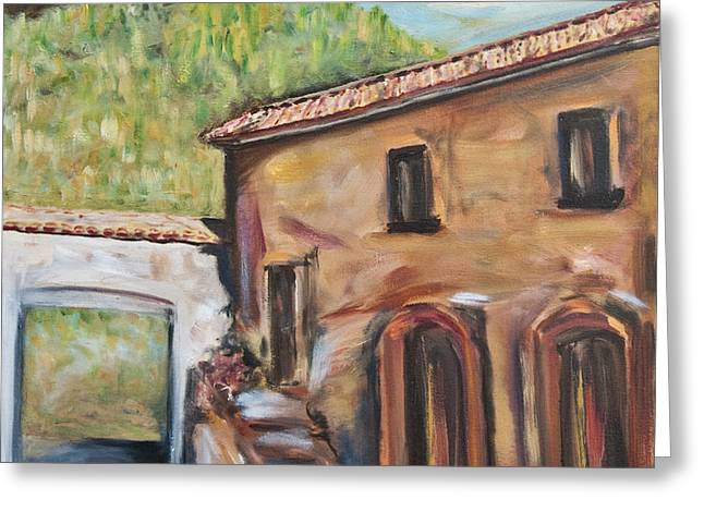 Tuscan Convent Greeting Card