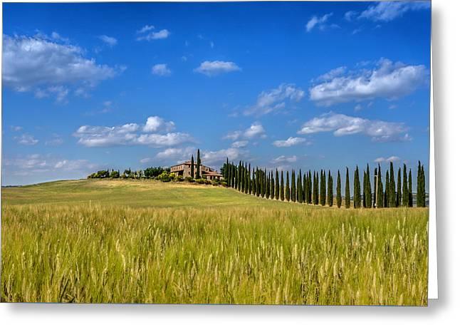 Tuscan Estate 2 Greeting Card