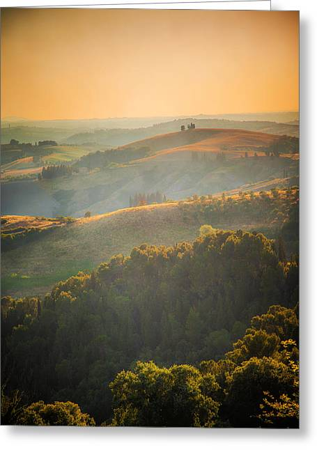 Tuscan Hills Greeting Card
