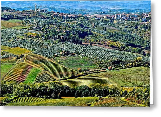 Tuscan Landscape Greeting Card