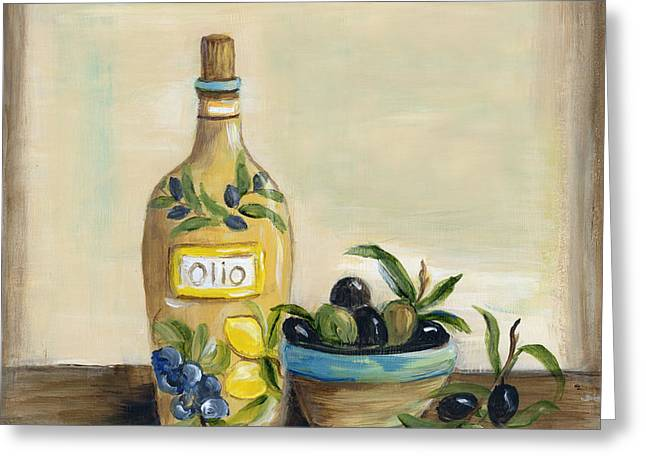Tuscan Olive Oil  Greeting Card