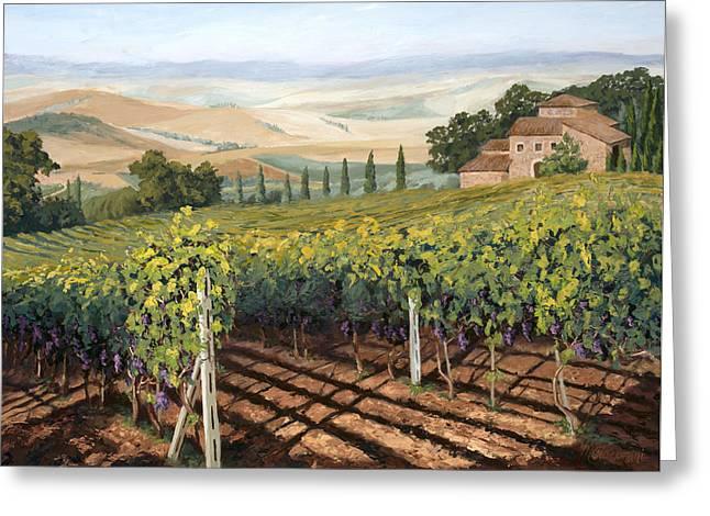 Tuscan Vines Greeting Card