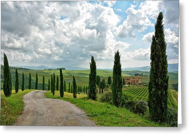 Tuscan Winery 2 Greeting Card