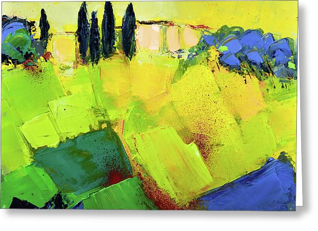 Tuscany Colors Greeting Card