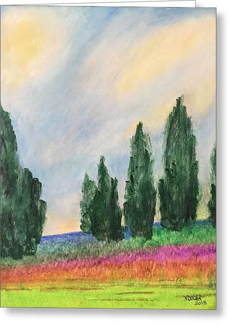 Tuscany Dream Greeting Card