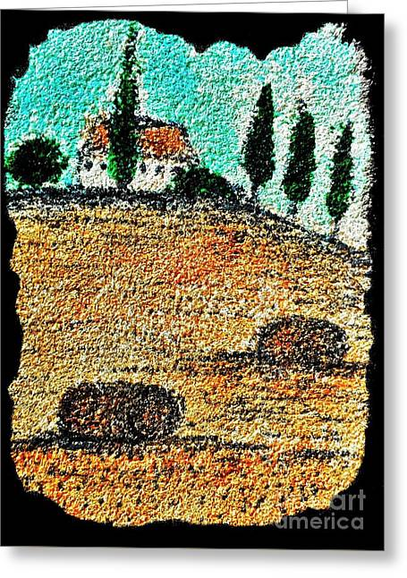 Tuscany  Greeting Card by Jasna Gopic