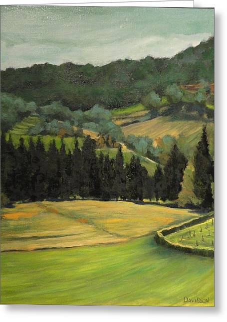 Tuscany View Greeting Card