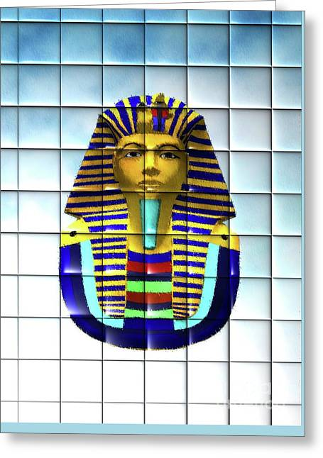 Tutankhamun Greeting Card