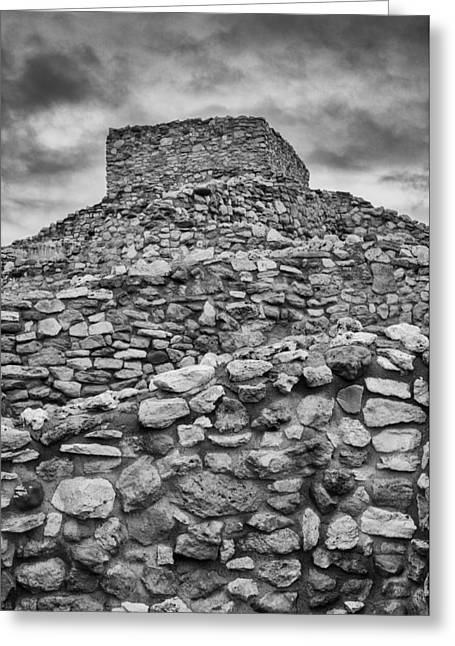 Tuzigoot Pueblo  Greeting Card