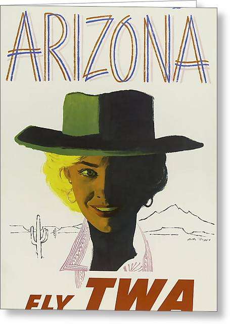 Twa Arizona Greeting Card