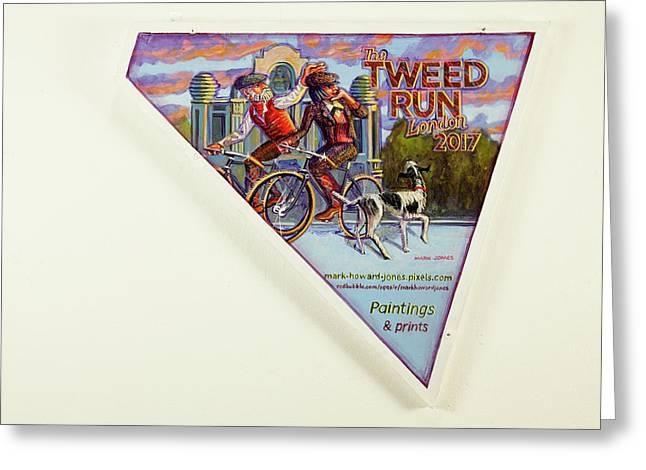 Tweed Run London 2 Guvnors  Greeting Card