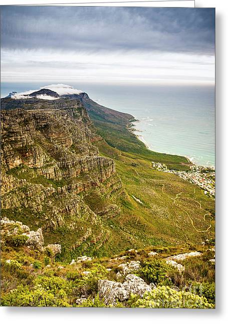 Twelve Apostles South Africa Greeting Card by Tim Hester