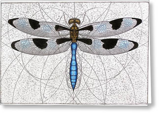 Twelve Spotted Skimmer Greeting Card