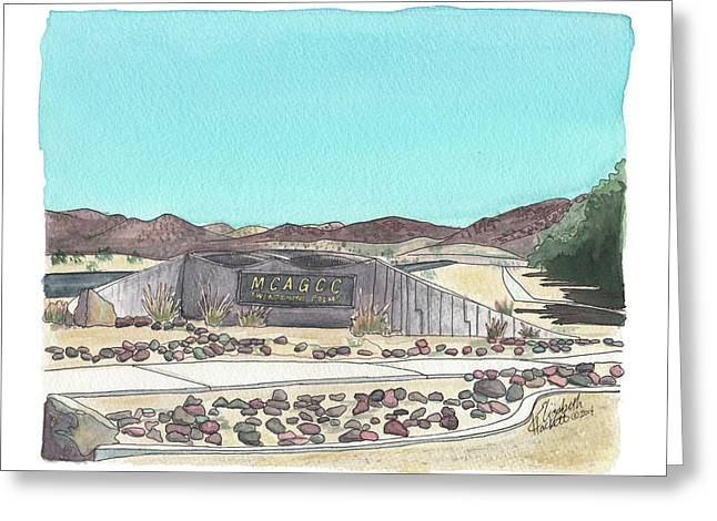 Twentynine Palms Welcome Greeting Card