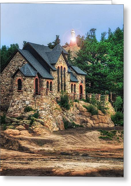 Twilight At Chapel On The Rock Greeting Card by Juli Ellen