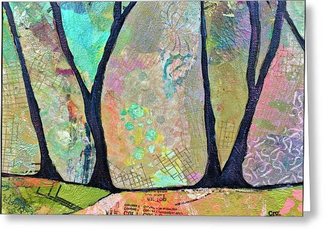 Twilight II Greeting Card by Shadia Derbyshire