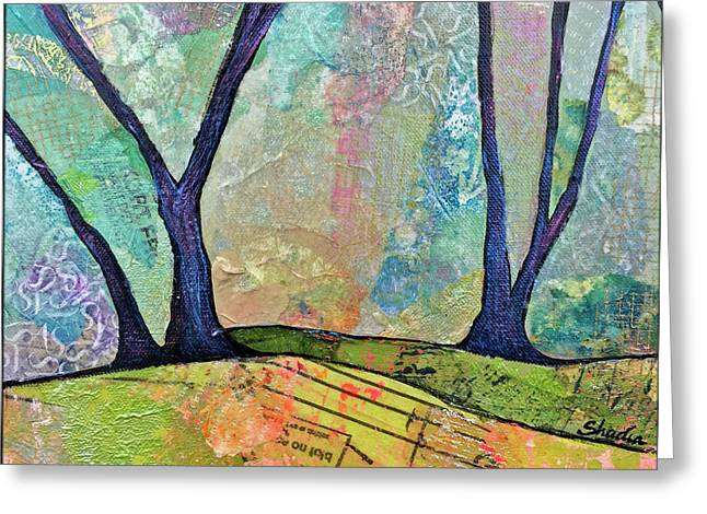 Twilight IIi Greeting Card by Shadia Derbyshire