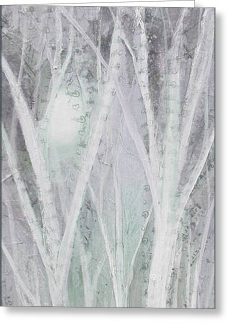 Twilight In Gray I Greeting Card by Shadia Derbyshire
