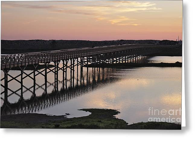 Twilight In Quinta Do Lago Greeting Card by Angelo DeVal