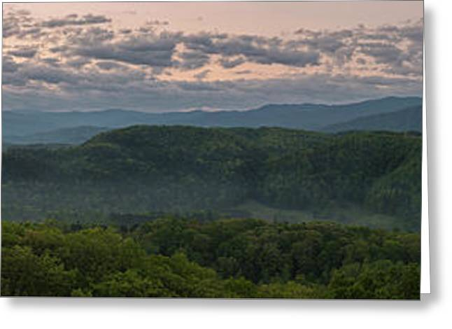Twilight In The Smokies Greeting Card
