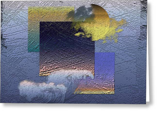 Twilight Interrupted By Ocean Breeze Greeting Card