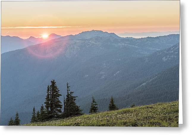 Twilight Is Coming Greeting Card by Jon Glaser