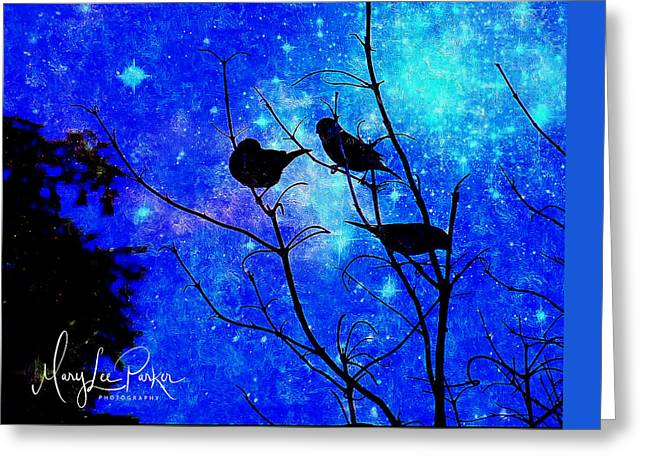 Twilight Greeting Card by MaryLee Parker