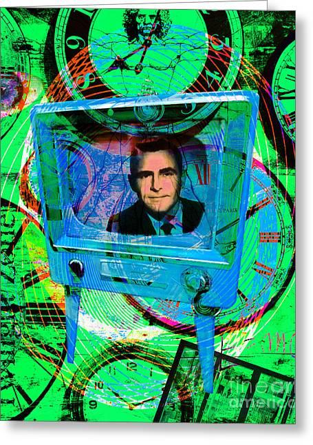 Vertigo Greeting Cards - Twilight Zone 20150905 p140 Greeting Card by Wingsdomain Art and Photography