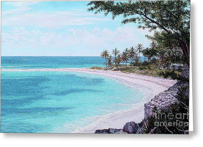 Twin Cove Paradise Greeting Card