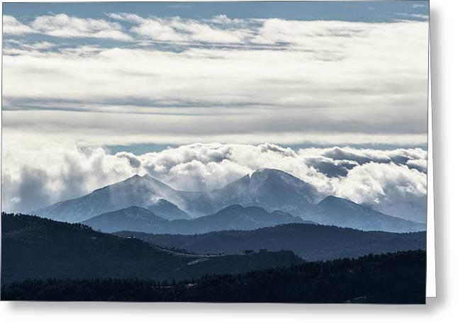 Twin Peaks Greeting Card