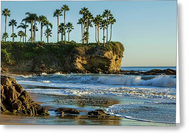 Twin Points Crescent Bay Greeting Card by Kelley King