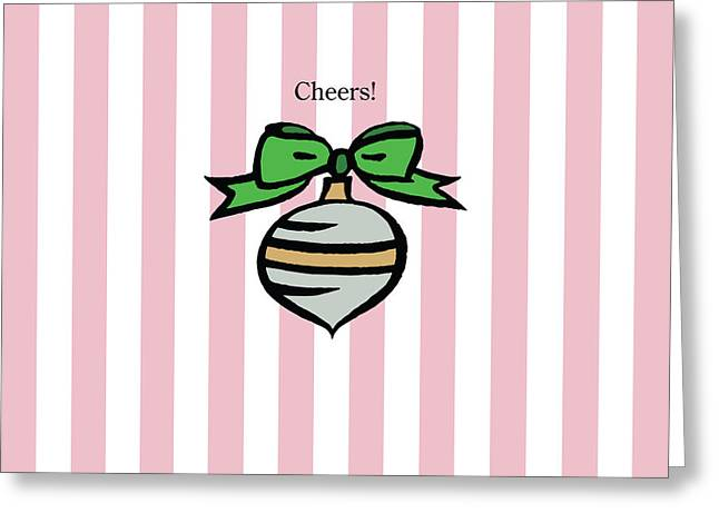 Twinkle In Pink Greeting Card by Patti Britton
